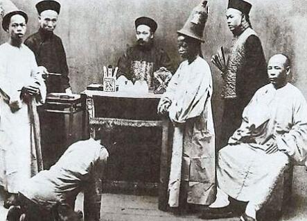中国古代冒充官员四大行骗奇案 图