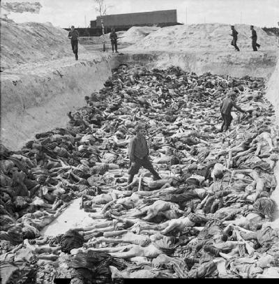 集中营-安妮的尸体图片